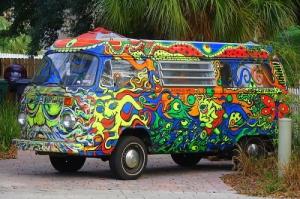 Hippie-VW-Van