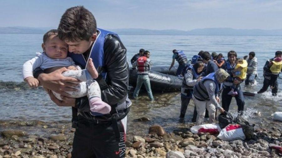 migrant landing